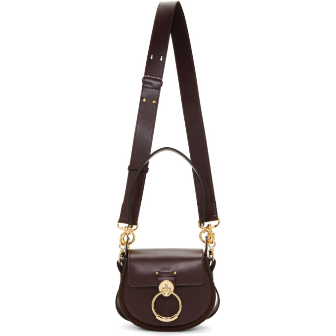 CHLOÉ | Chloe Purple Small Tess Bag | Goxip