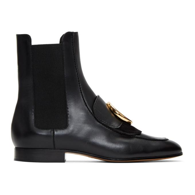 Chloe Black Chloe C Chelsea Boots