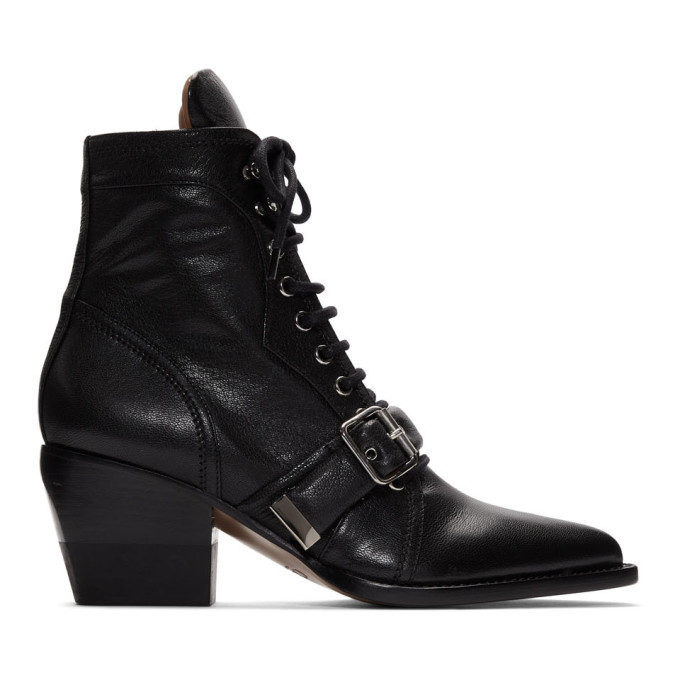 Chloe Black Rylee Boots