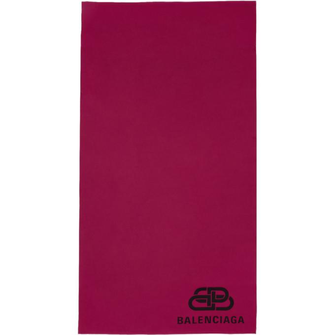 Balenciaga Foulard rose Blanket
