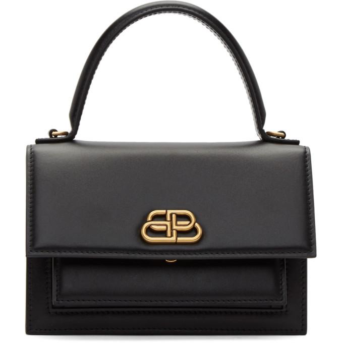 fc6550e15 Balenciaga Black Xs Sharp Satchel Bag | ModeSens