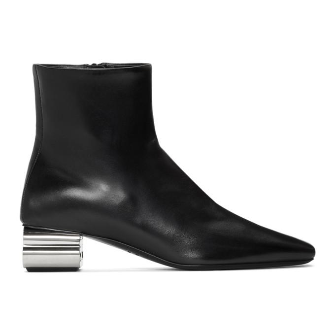 Buy Balenciaga Black Typo 50mm Boots online