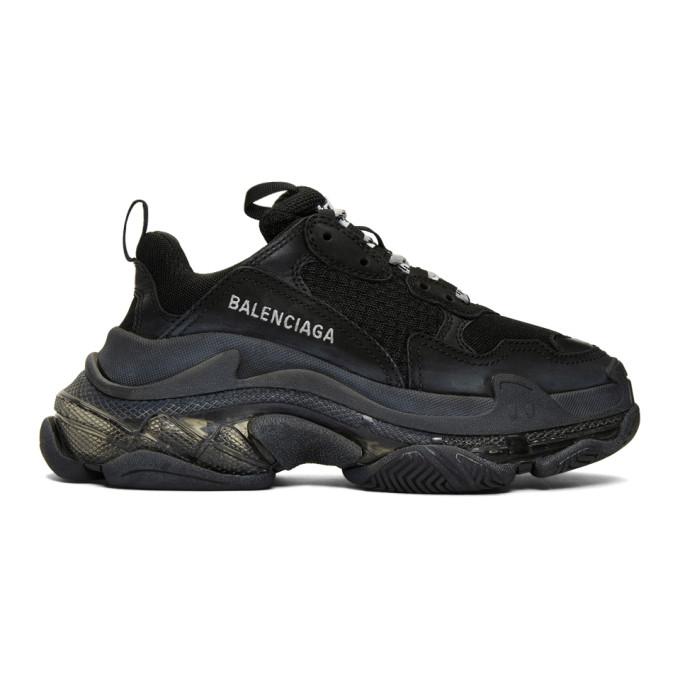 Balenciaga Sneakers BALENCIAGA BLACK TRIPLE S SNEAKERS