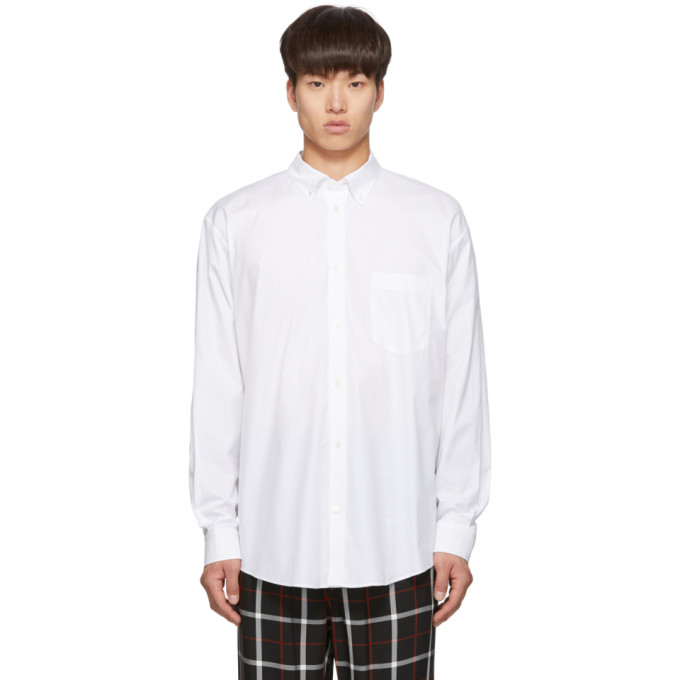 Balenciaga Chemise blanche Normal Fit