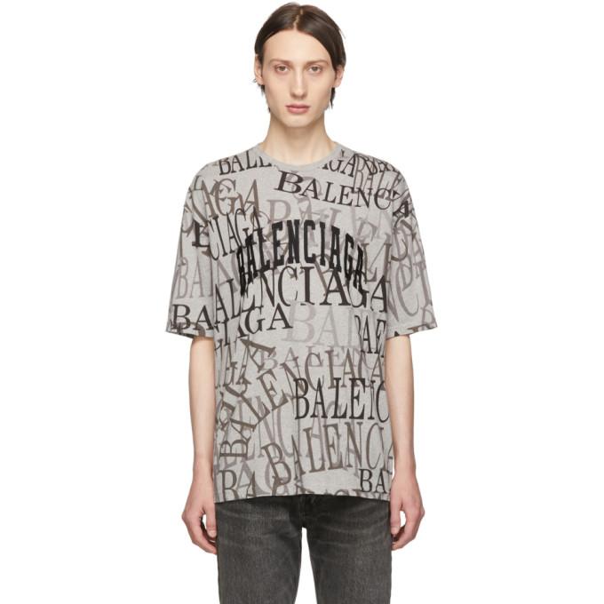 BALENCIAGA | Balenciaga Grey Chinatown T-Shirt | Goxip
