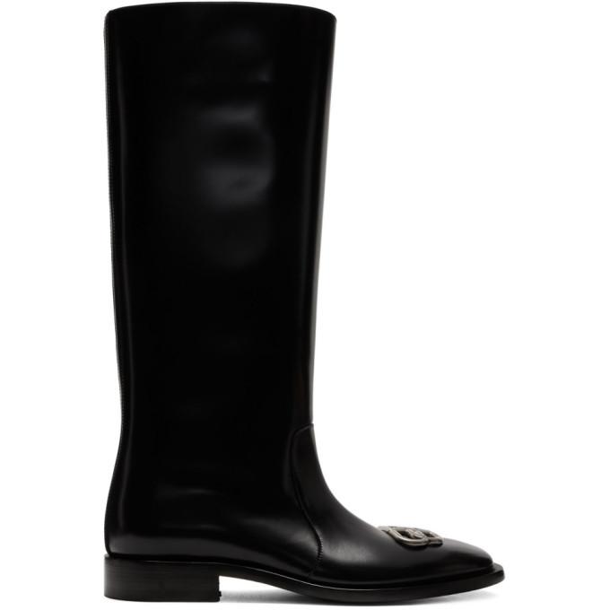 Balenciaga Black Jive Boots