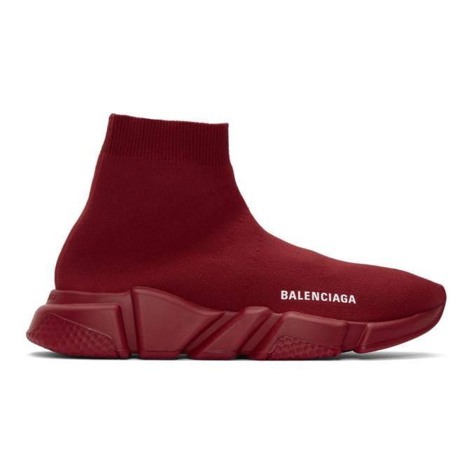 Balenciaga レッド スピード スニーカー