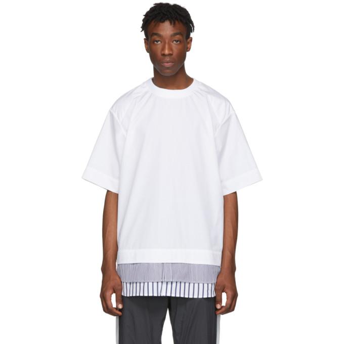 Juun.J T-shirt blanc Shirting