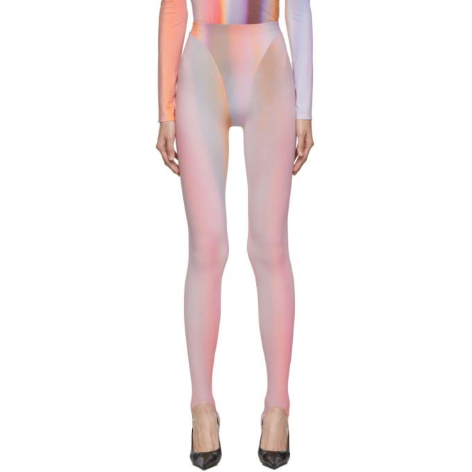 Mugler Legging multicolore Airbrush
