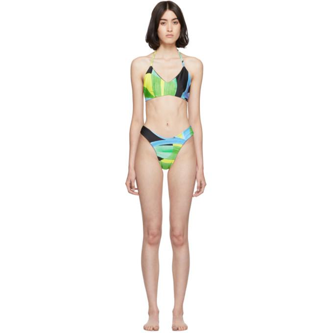 Louisa Ballou Bikini multicolore The Swell exclusif a SSENSE