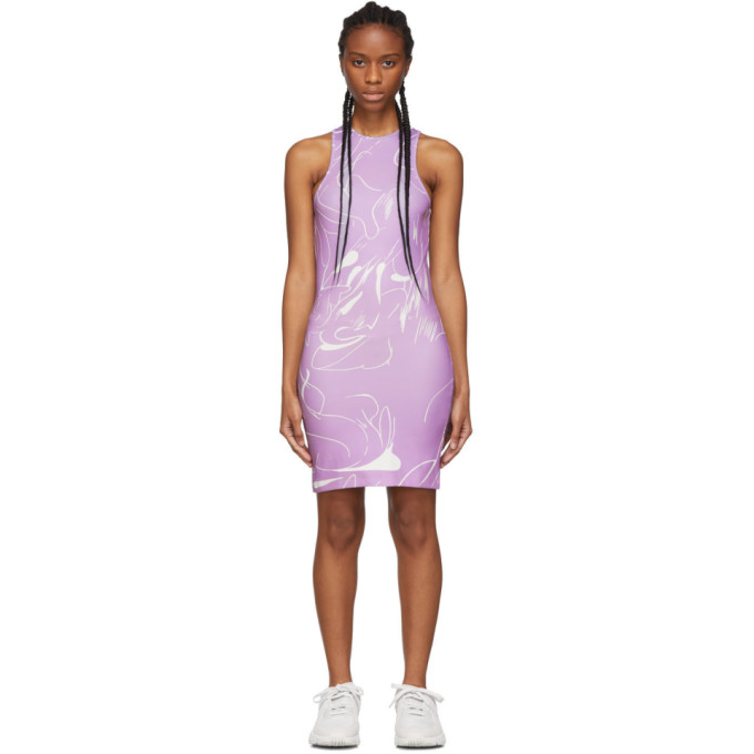 Danielle Cathari Robe mauve Emblazoned Racer exclusive a SSENSE