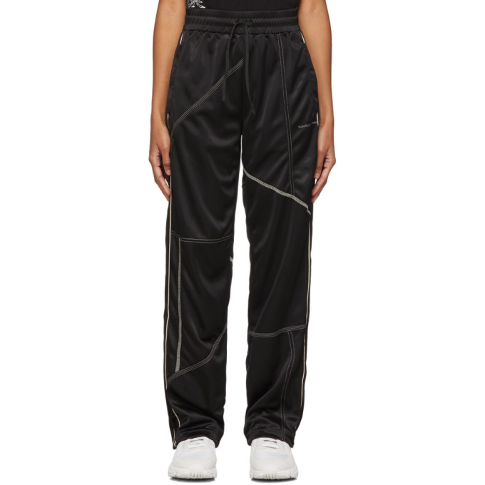 Danielle Cathari Pantalon de survetement noir Deconstructed