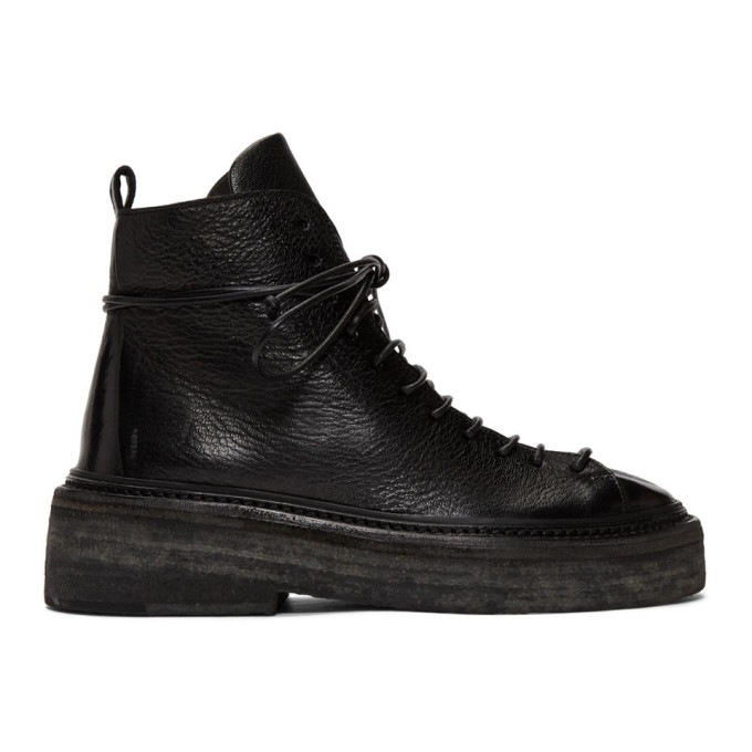 Marsell Black Parruccona Boots
