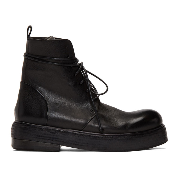 Marsell Black Zuccolona Boots