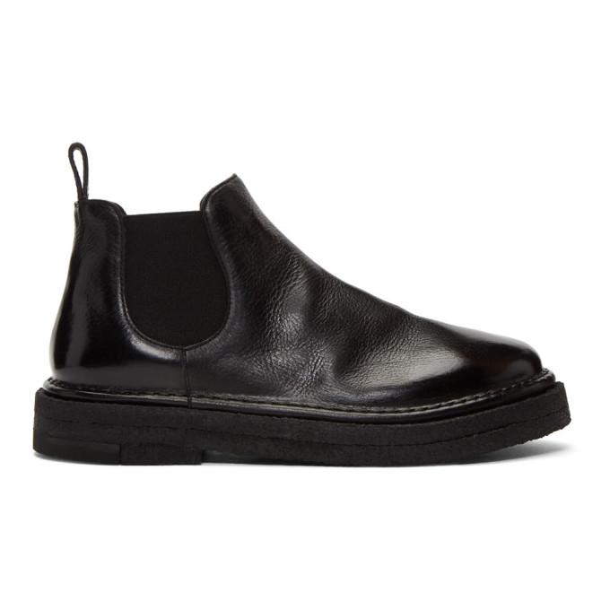 Marsell Black Parapa Beatles Boots