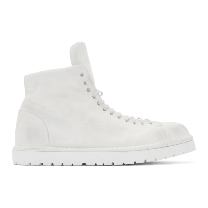 Marsell Off-White Gomme Pallottola Pedula Boots