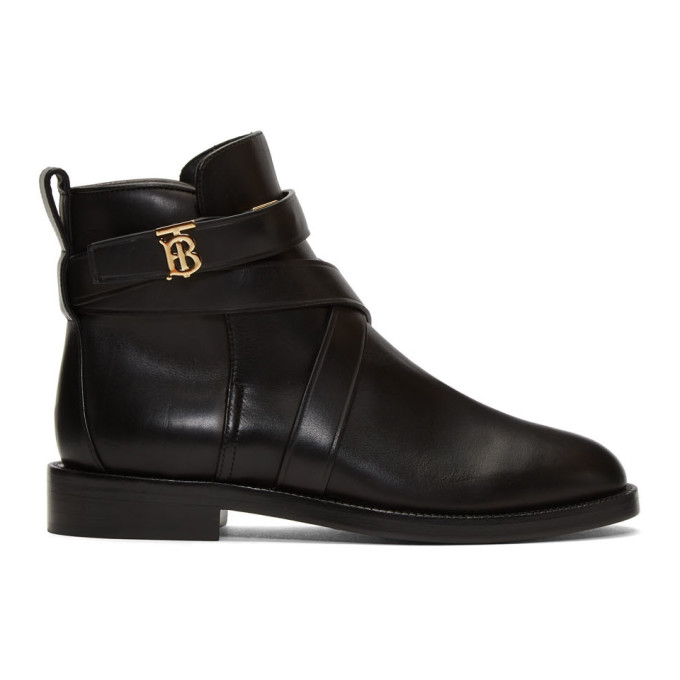 Burberry Black Pryle TB Boots