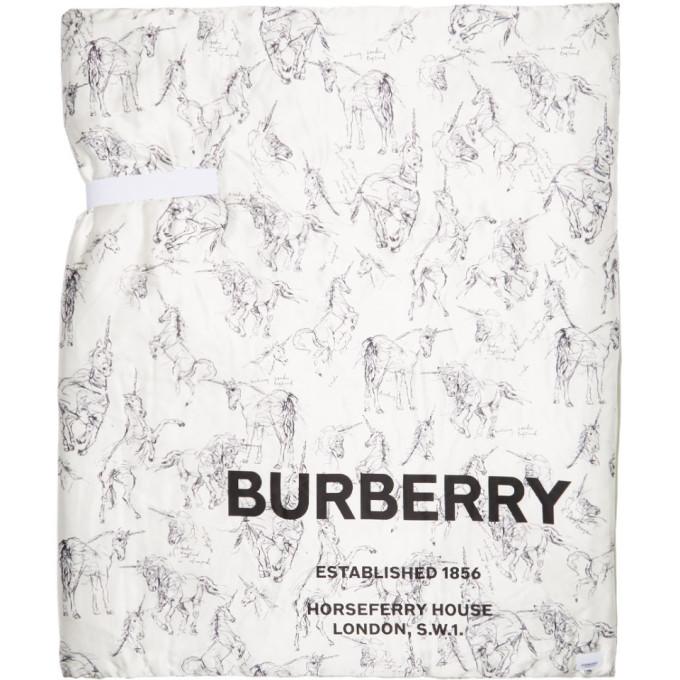 Burberry Foulard en soie rembourre multicolore