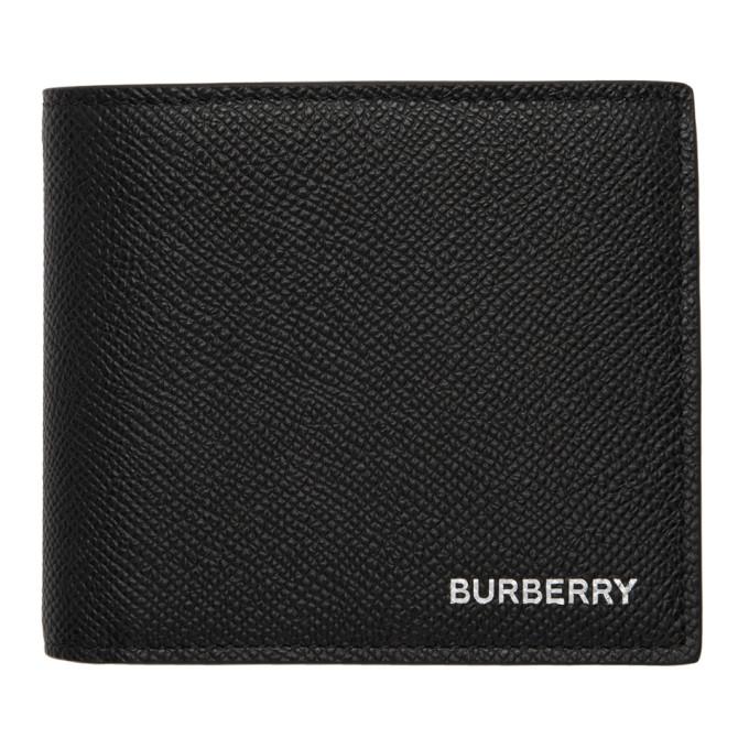 Burberry ブラック インターナショナル コイン バイフォールド ウォレット