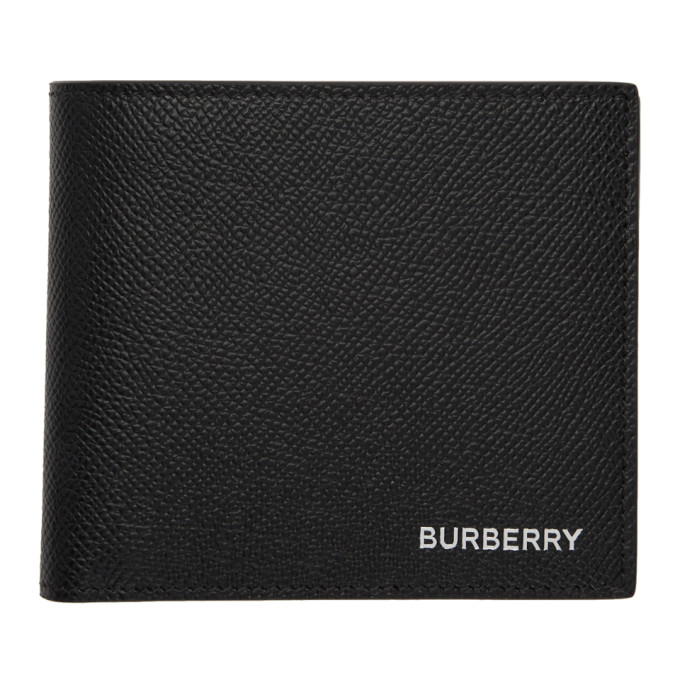 Burberry ブラック インターナショナル バイフォールド ウォレット