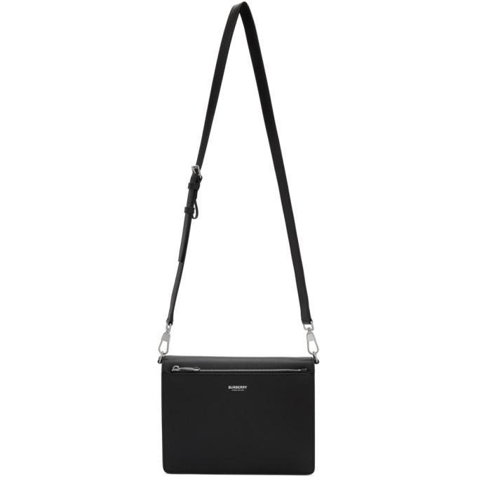 Burberry Black Triple Stud Crossbody Bag
