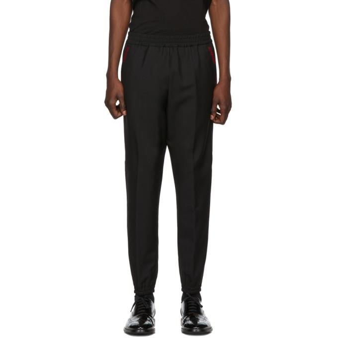 Burberry Pantalon de survetement noir Runway Block Jogger