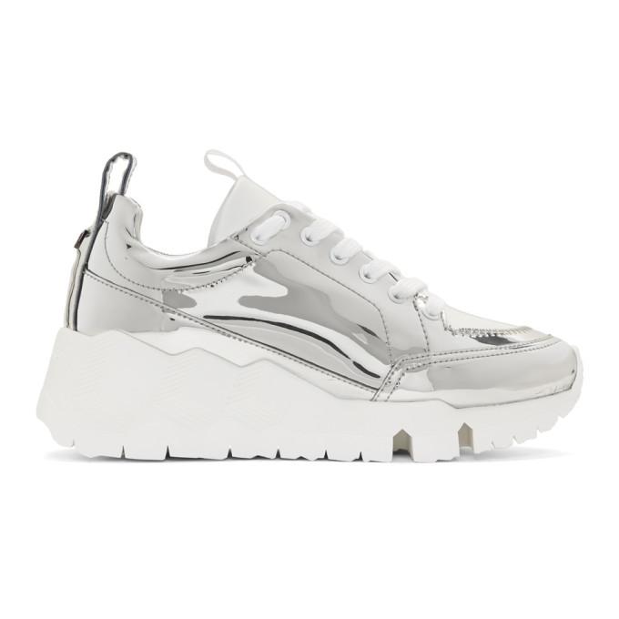 Pierre Hardy Silver Street Life Sneakers
