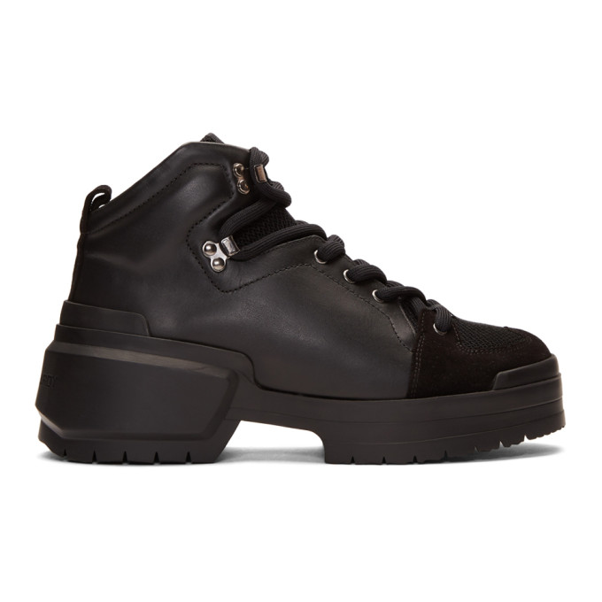 Pierre Hardy Black Trapper Boots