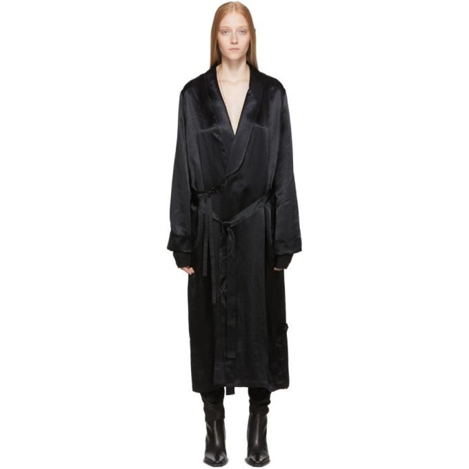 Ann Demeulemeester Robe noire Nanette