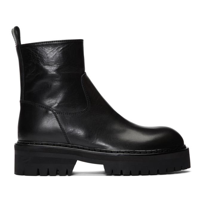 Ann Demeulemeester Black Tucson Boots