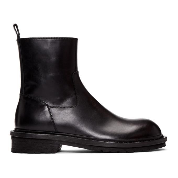 Ann Demeulemeester Black Tucson Zip-Up Boots