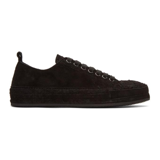 Ann Demeulemeester Black Suede Roccia Sneakers