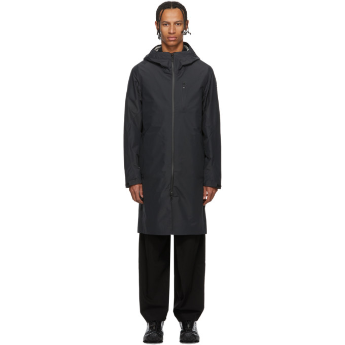 Descente Allterrain Manteau noir Schematech Shield