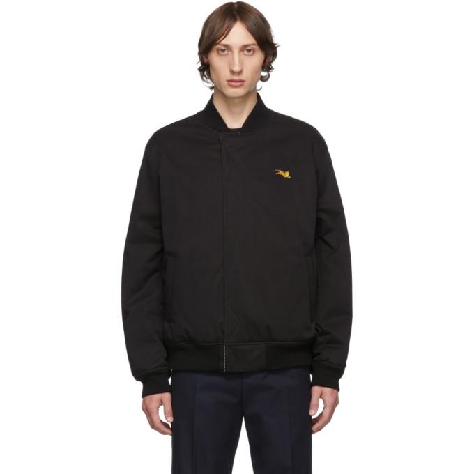 Kenzo リバーシブル ブラック ボンバー ジャケット