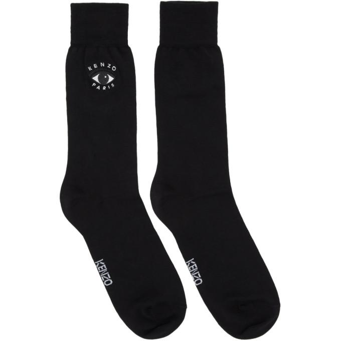 Kenzo Black Eyes Socks