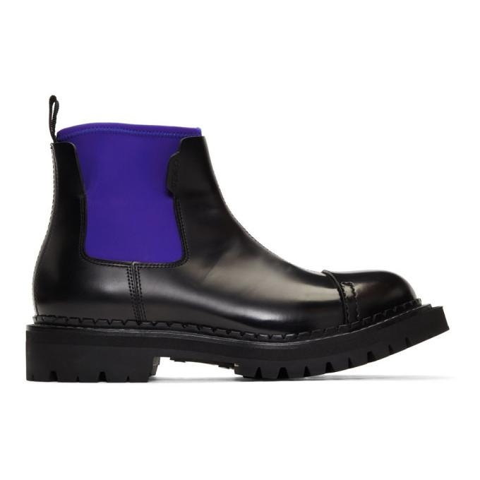 Kenzo Black Kamden Chelsea Boots