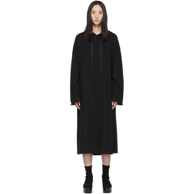 Maison KitsunÉ Maison Kitsune Black Hoodie Dress In Bk Black