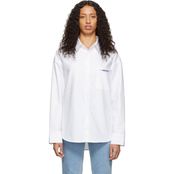 Maison Kitsune Chemise blanche Button edition ADER Error