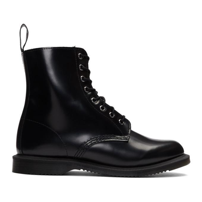 Dr. Martens Black Elsham Boots