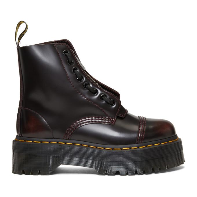 Dr. Martens Burgundy Sinclair Boots