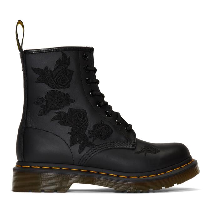 Dr. Martens Black 1460 Vonda Mono Boots