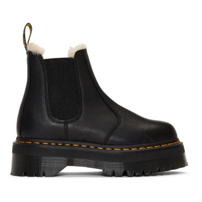Dr. Martens Black 2976 Quad FL Boots