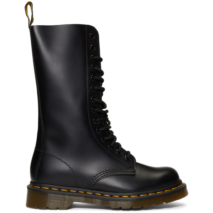 Dr. Martens Black 14-Eye 1914 Boots