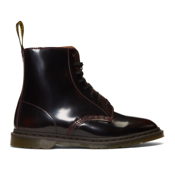 Dr. Martens Burgundy Winchester II Boots