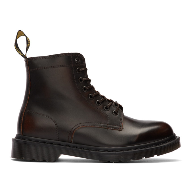 Dr. Martens Brown Made In England Rixon Boots