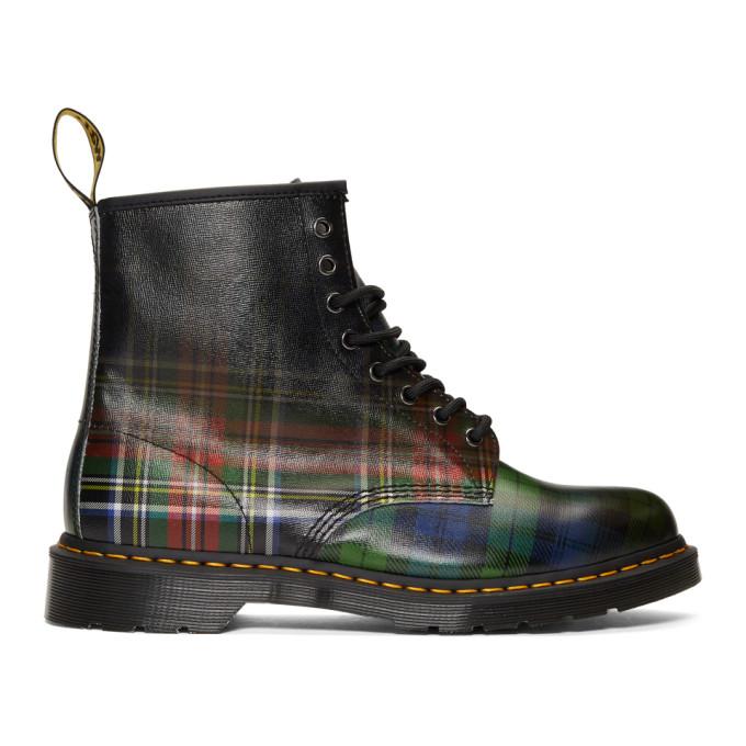 Dr. Martens Multicolor Plaid 1460 Tartan Boots