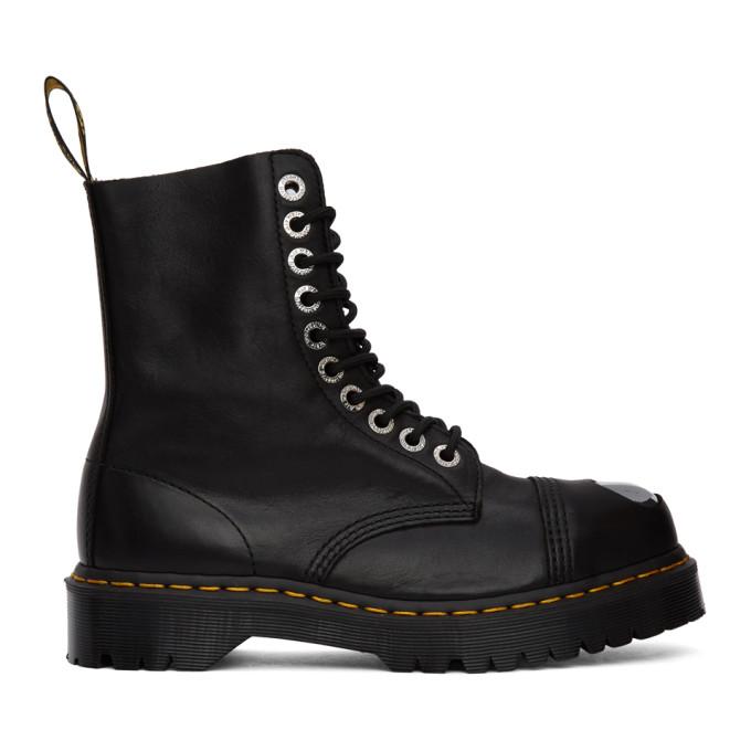 Dr. Martens Black Luxor 8761 Boots