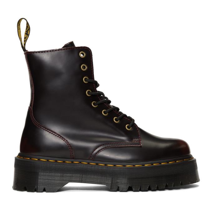 Dr. Martens Red Jadon Boots