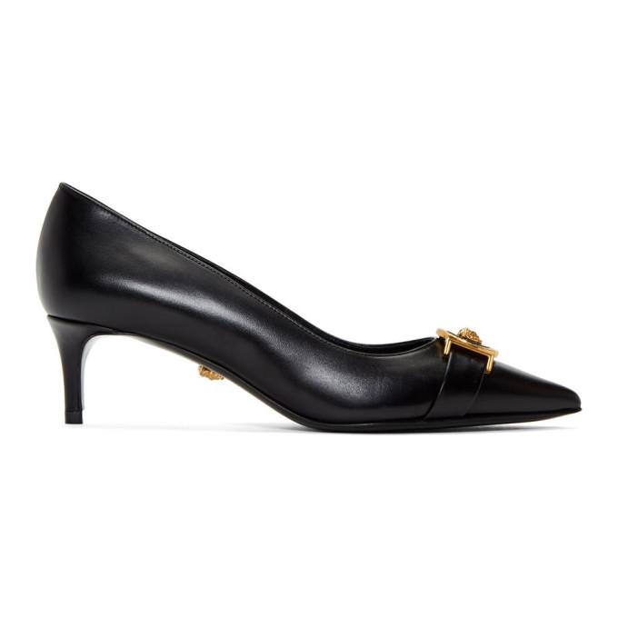 Versace Black Tribute Heels