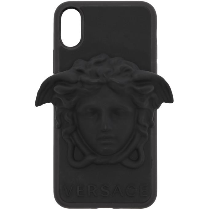 Versace メドゥーサ iPhone X ケース
